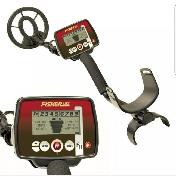 Fisher f11 metal detector