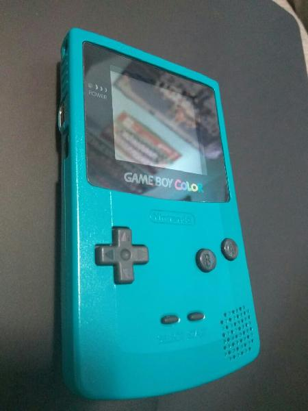 Gameboy color turquesa - como nueva