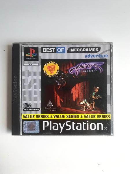Heart of darkness de playstation 1 en español