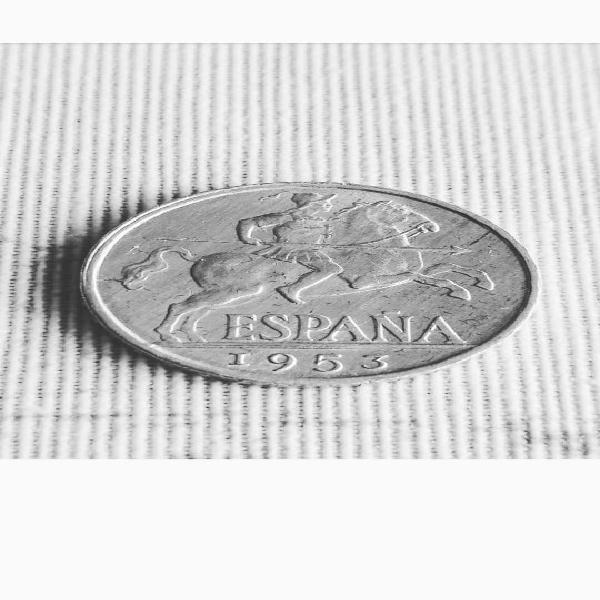 Ii republica - 10 centimos 1953