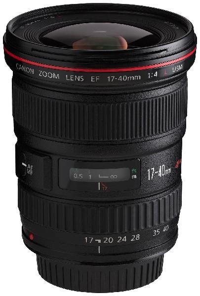 Lente canon 17-40 mm f.4