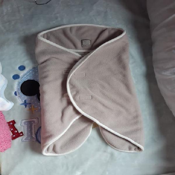 Manta, saco, arrullo bebe polar