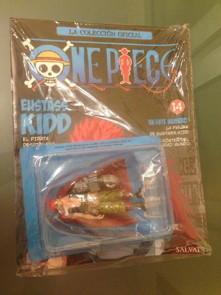 Miniatura eustass kidd de one piece nuevo