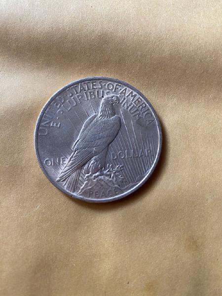 Moneda plata dollar eeuu