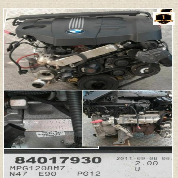 Motor bmw n47d20a n47d20c garantía