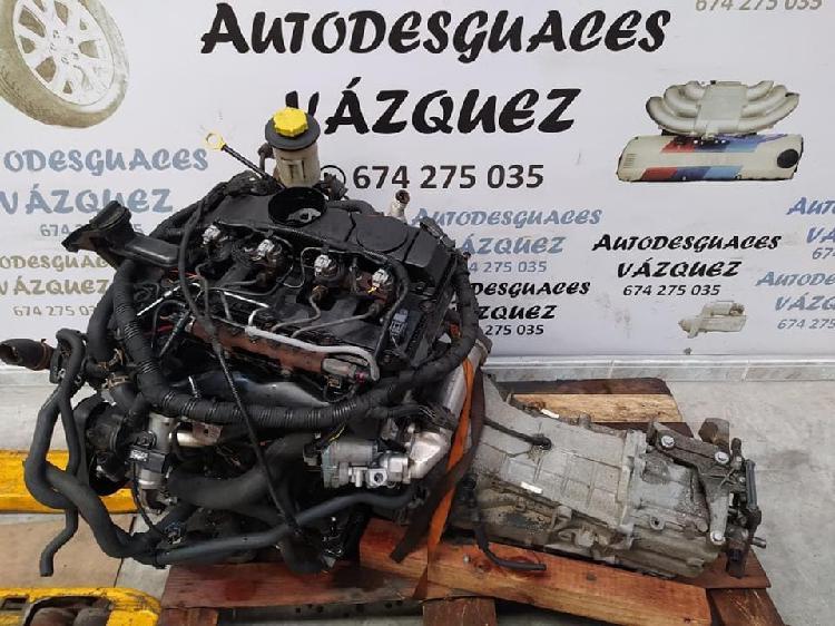 Motor y cambio ford transitt 2.4 tdci 115cv