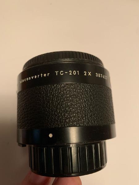 Nikon teleconverter 2x tc-201
