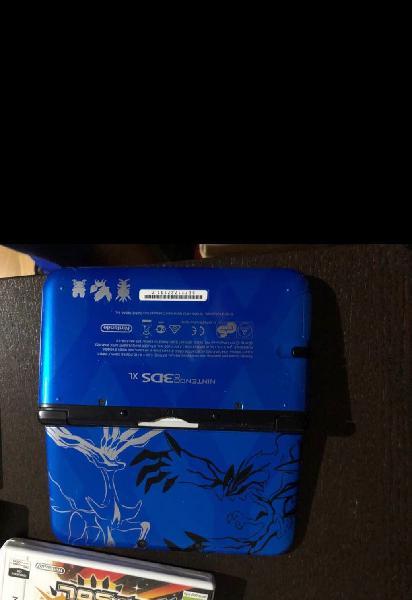 Nintendo 3ds xl + funda y carcasa