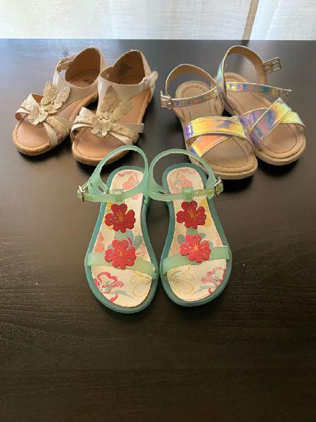Pack de sandalias niña!