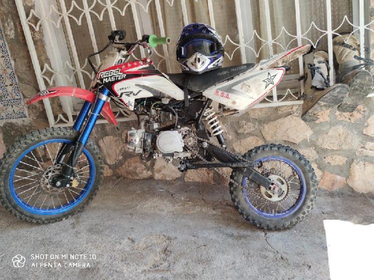Pit bike rebel master 125cc 4t xl