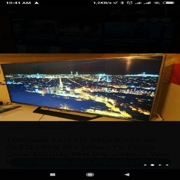 Smart tv wi-fi 55led lg 55uh625v 4k oled ultra hd