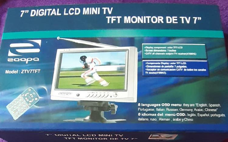 """Tft monitor de tv 7"""" color"""