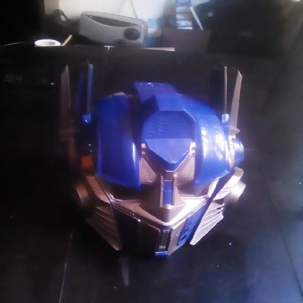 Transformers.casco con sonido.35 cm.tamaño adulto