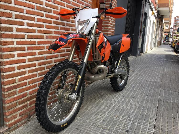 Vendo ktm exc 200 2006