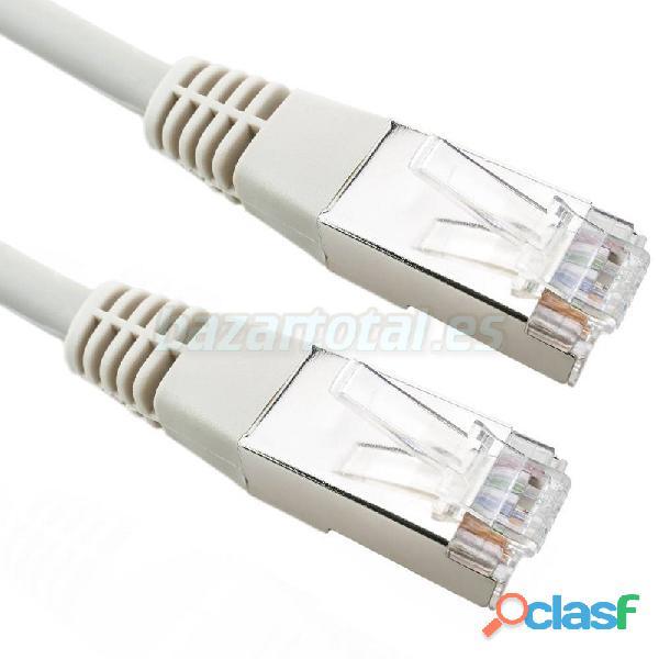 Cable de internet red lan lshf de 10 metros gris