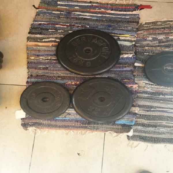 Conjunto de discos de 28