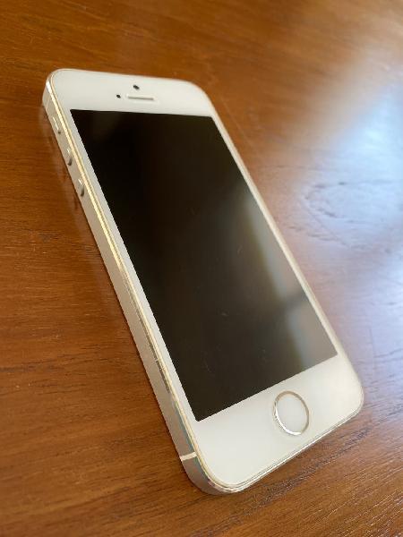 Iphone 5s 16gb blanco/plata