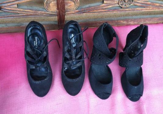 2 pares zapatos nuevos numeros 39