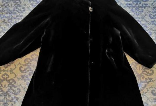 Abrigo muton sintético a estrenar