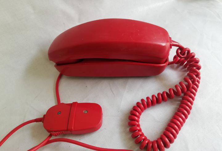 Antiguo telefono de pared gondola citesa malaga vintage