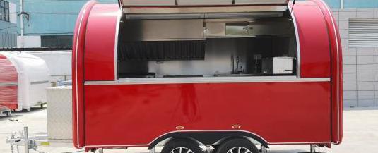 Brand new vending food trailer truck cart caravan
