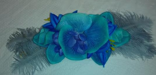 Cinturon fajin flores