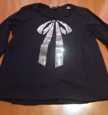 Camiseta manga larga zara 2/3 años
