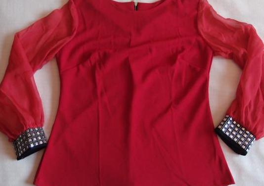 Camiseta roja mujer talla m
