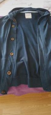 Chaqueta hombre azul botones