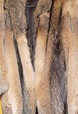 Chaquetón de piel