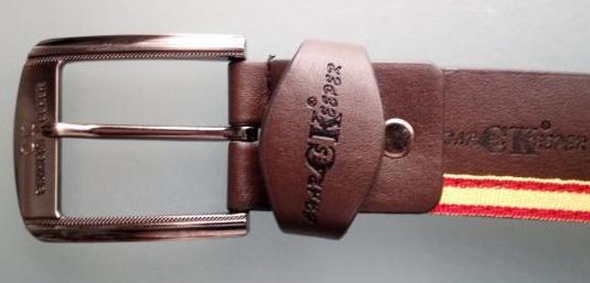 Cinturón cuero charles keeper españa
