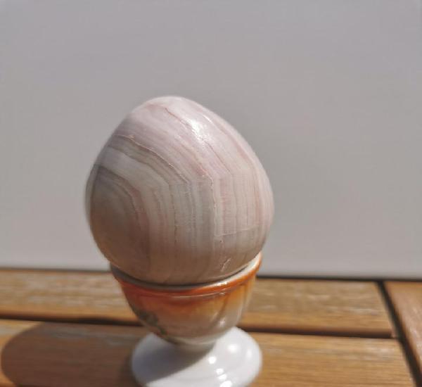 Huevo decoracion marmol pulido - medidas aproximadas