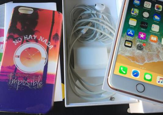 Iphone 6s plus 64gb rose gold impecable