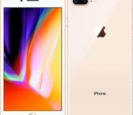Iphone 8 plus color rose gold 256gb