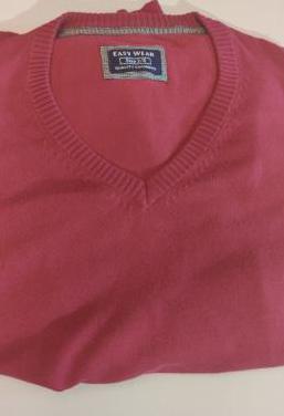 Jersey hombre rosa fucsia talla s