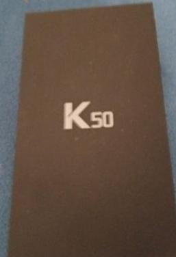 Lg k50, estrenar,garantia