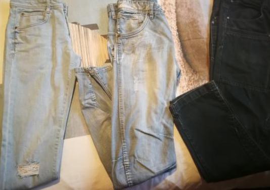 Lote pantalones tejanos chico nuevos