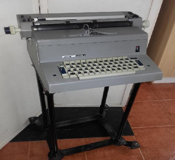 Maquina de escribir electrica olivetti tekne 3 - para