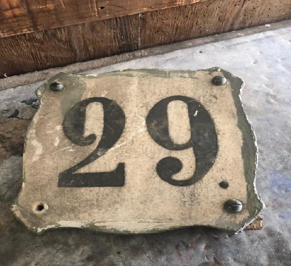 Número de casa 29