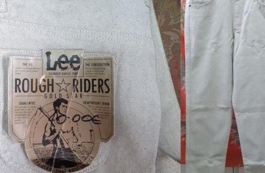 Pantalon lee rough riders-gold star, t-40