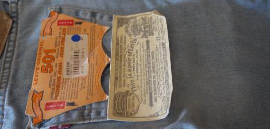 Pantalon vaquero levis 501