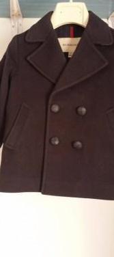 Precioso abrigo chaqueta azul marino burberry