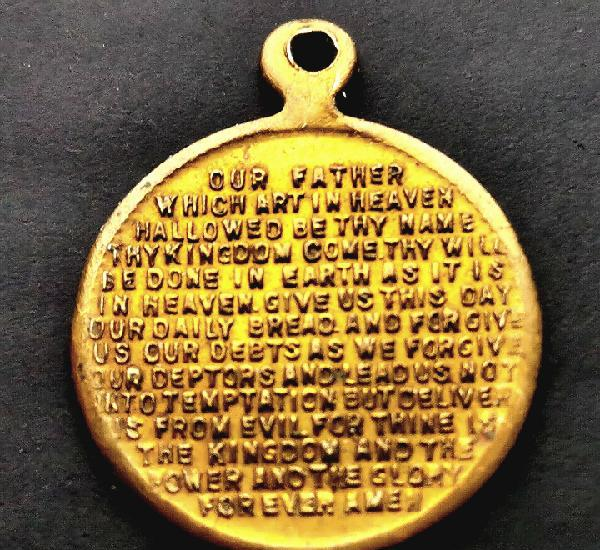 Rara. irlanda. medalla padrenuestro siglo xix. ver