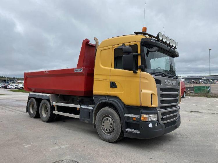Scania g 360 6x4 dump tipper truck 265 kw en venta