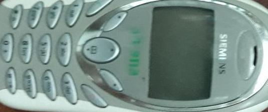 Telefono movil antiguo siemens a55 ,usado