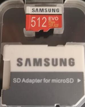 Tarjeta samsung micro sd 512gb