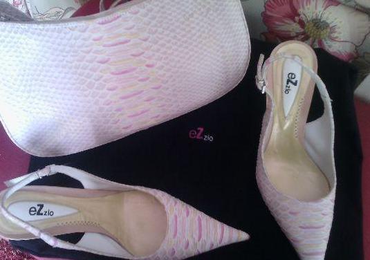 Zapato y bolso marca ezzio