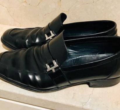 Zapatos lottusse piel pulida, negros