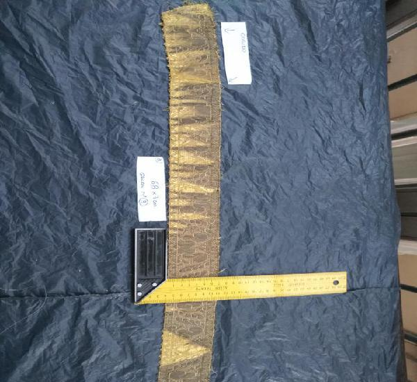 Ancho galon oro metal 68 x 7 cm ideal confecciones religiosa
