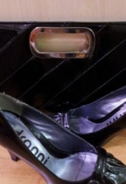 Bolso y zapato a juego